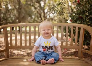 Layton's 1st Birthday- Kinley Rose Photography, Ludowici, GA Newborn Photographer
