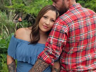 Brandi + Garrett - Kinley Rose Photography, Ludowici, GA Newborn Photographer