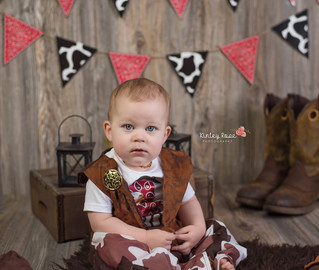 Happy Birthday Bo! - Kinley Rose Photography, Clarksville, TN Newborn Photography