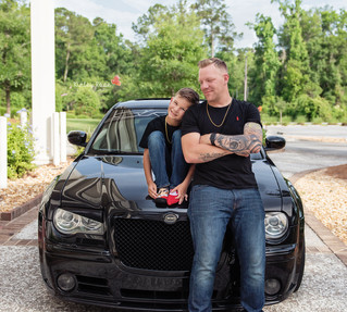 Michael & Braydon's Daddy & Me - Kinley Rose Photography, Ludowici, GA Newborn Photographer