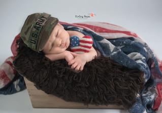Thaddeus {9 Days New} - Kinley Rose Photography, Clarksville, TN Newborn Photographer