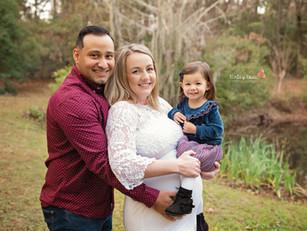 Meagan & Richie's Maternity - Kinley Rose Photography, Ludowici, GA Newborn Photographer