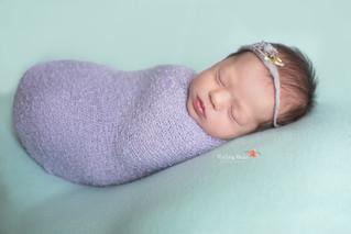 Stella {18 Days New} - Kinley Rose Photography, Clarksville, TN Newborn Photographer