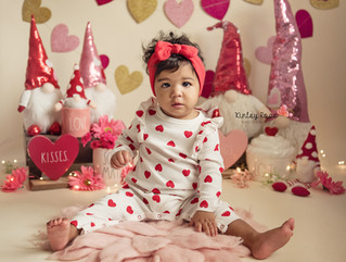 Maia's Valentines Day Mini - Kinley Rose Photography, Ludowici, GA Newborn Photographer