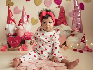 Maia's Valentines Day Mini - Kinley Rose Photography, Ludowici, GA Newborn Photographer