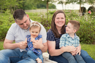 The R. Family - Kinley Rose Photography, Clarksville, TN Newborn Photographer