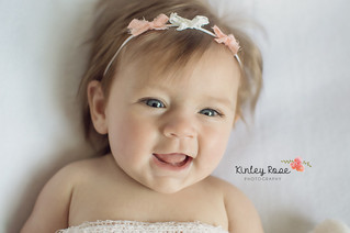 Olivia {3 Months} - Kinley Rose Photography, Ft. Campbell Newborn Photography