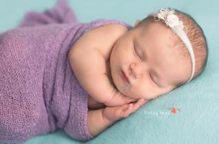 Hazel {11 Days New} - Kinley Rose Photography, Clarksville, TN Newborn Photographer