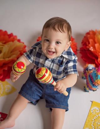Happy Birthday Virgil! - Kinley Rose Photography, Clarksville, TN Newborn Photographer