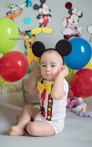 Colton ONE! - Kinley Rose Photography, Clarksville, TN Newborn Photographer