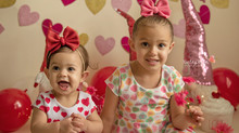 Eliana & Delilah's Valentines Day Mini - Kinley Rose Photography, Ludowici, GA Newborn Photography