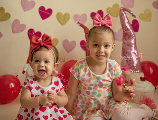 Eliana & Delilah's Valentines Day Mini - Kinley Rose Photography, Ludowici, GA Newborn Photography