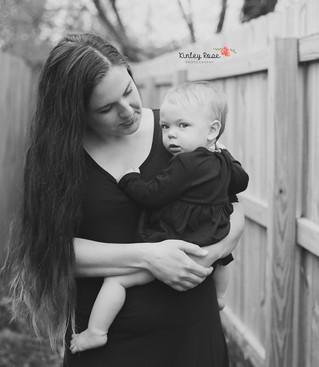 Cora is ONE! - Kinley Rose Photography, Clarksville, TN Newborn Photographer