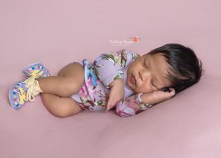 Ari'ella {12 Days New} - Kinley Rose Photography, Ludowici, GA Newborn Photographer
