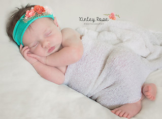 Annabelle {16 Days New} - Kinley Rose Photography, Ft. Campbell Newborn Photography