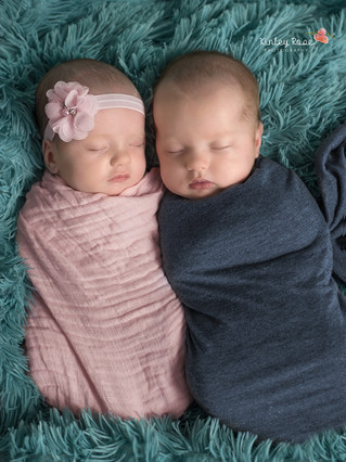 Everly & Bryson {2 Months New} - Kinley Rose Photography, Clarksville, TN Newborn Photographer