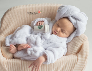 Hayden {7 Days New} - Kinley Rose Photography, Clarksville, TN Newborn Photographer