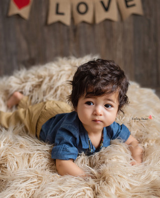 Lorenzo's Valentines Mini - Kinley Rose Photography, Ludowici, GA Newborn Photographer