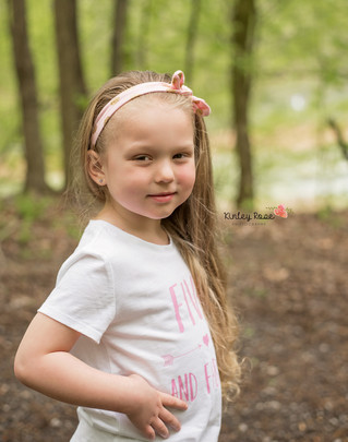 Mariah is FIVE! - Kinley Rose Photography, Clarksville, TN Newborn Photographer