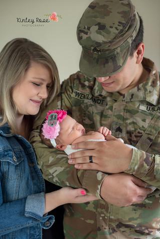 Peighton {12 Days} - Kinley Rose Photography, Clarksville, TN Newborn Photographer