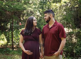 Mikayla + Dominic - Kinley Rose Photography, Ludowici, GA Newborn Photographer