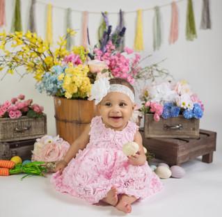 Catherine's 9 Month Milestone - Kinley Rose Photography, Clarksville, TN Newborn Photographer