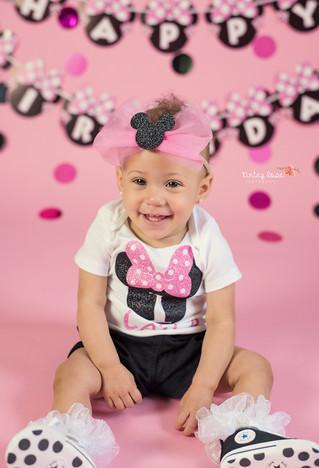 Happy Birthday Laila! - Kinley Rose Photography, Clarksville, TN Newborn Photographer