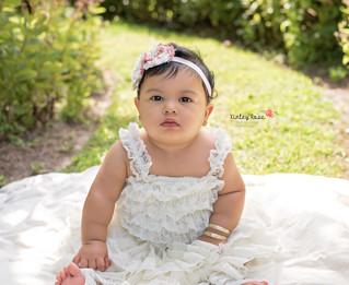Kamilla's Fruit Bath - Kinley Rose Photography, Clarksville, TN Newborn Photographer