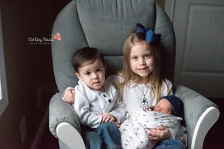 Rowan's Fresh 48 - Kinley Rose Photography, Clarksville, TN Newborn Photography