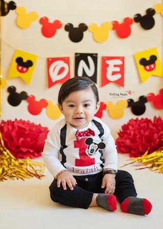 Happy Birthday Izaiah! - Kinley Rose Photography, Ludowici, GA Newborn Photographer