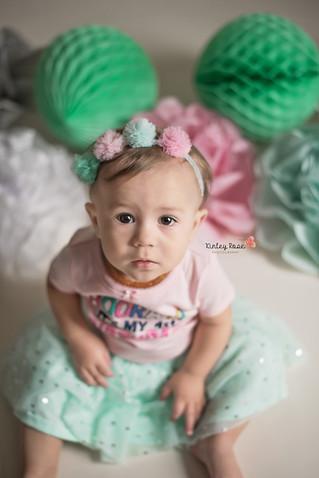 Payton is ONE! - Kinley Rose Photography, Clarksville, TN Newborn Photographer