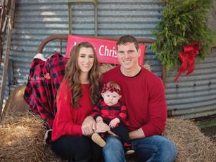 The Garrett Family - Kinley Rose Photography, Ludowici, GA Newborn Photographer