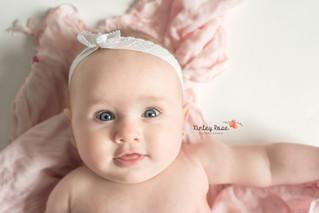 Emma's Three Month Milestone - Kinley Rose Photography, Clarksville, TN Newborn Photographer