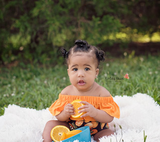 Raelynn is SIX Months! - Kinley Rose Photography, Clarksville, TN Newborn Photographer