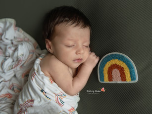 Olias {5 Weeks New} - Kinley Rose Photography, Ludowici, GA Newborn Photographer