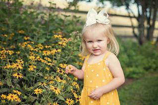 Piper's Butterfly Garden Mini - Kinley Rose Photography, Clarksville, TN Newborn Photographer