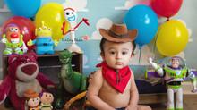 Sean is ONE! - Kinley Rose Photography, Ludowici, GA Newborn Photographer
