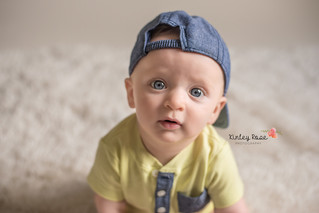 Aiden is SIX Months Old! - Kinley Rose Photography, Clarksville, TN Newborn Photographer