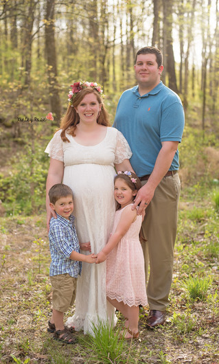 Rachel & Matthew's Maternity - Kinley Rose Photography, Clarksville, TN Newborn Photographer