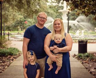 The Williams Family - Kinley Rose Photography, Ludowici, GA Newborn Photographer