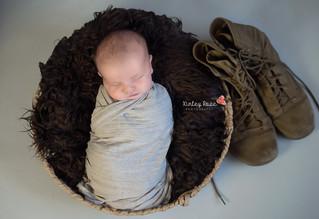 Miles {15 Days New} - Kinley Rose Photography, Ludowici, GA Newborn Photographer