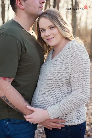 Maria & Michael's Maternity - Kinley Rose Photography, Clarksville, TN Newborn Photographer