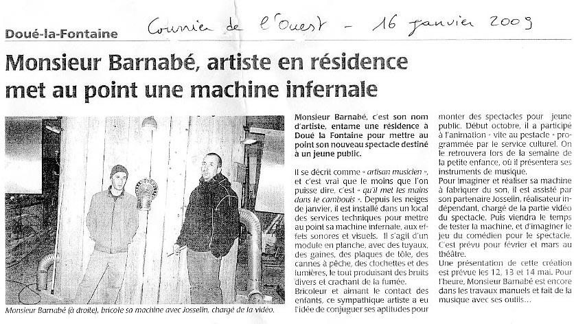 Presse OSNI 16 janv 09