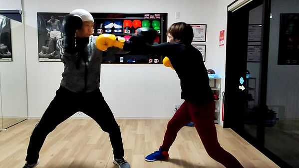 tomitt パーソナルボクシング画像①