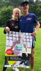 Majtie Kolberg souveräne Siegerin über 800m
