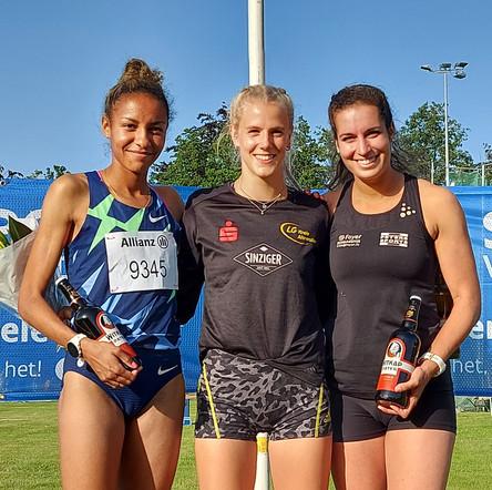 Majtie Kolberg läuft Olympia Norm