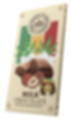 RASTA CHOCOLATE MILK whit hazelnut 144 c