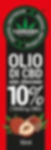 Olio di CBD 10%NOCCIOLA - fustella 8,5 c