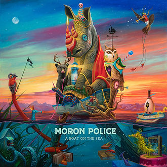 Moron Police A Boat On The Sea.jpg