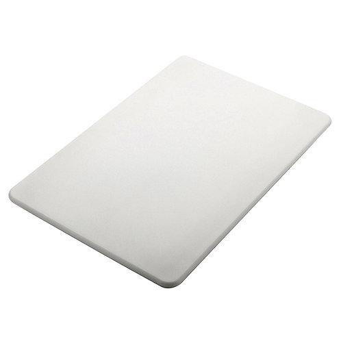 TABLA PLASTICO CORTAR BLANCA
